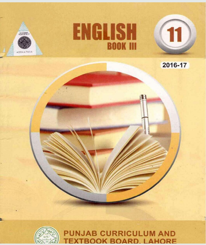 11 Class english book 3 (1st year, intermediate,textbook, F A,FSC