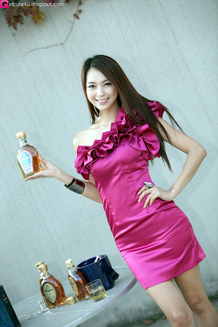 4 Ju Da Ha for Kingdom Whisky-very cute asian girl-girlcute4u.blogspot.com