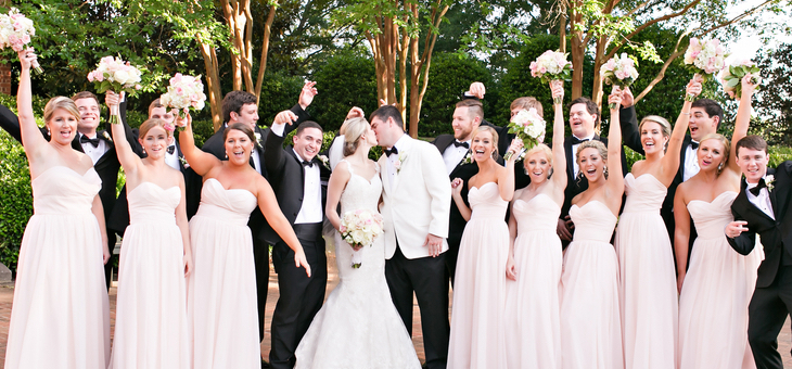 College Sweethearts Get Married in a Garden-Style Wedding | The ...
