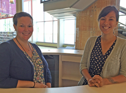 Rachel and Margaret, Adult Services Librarians