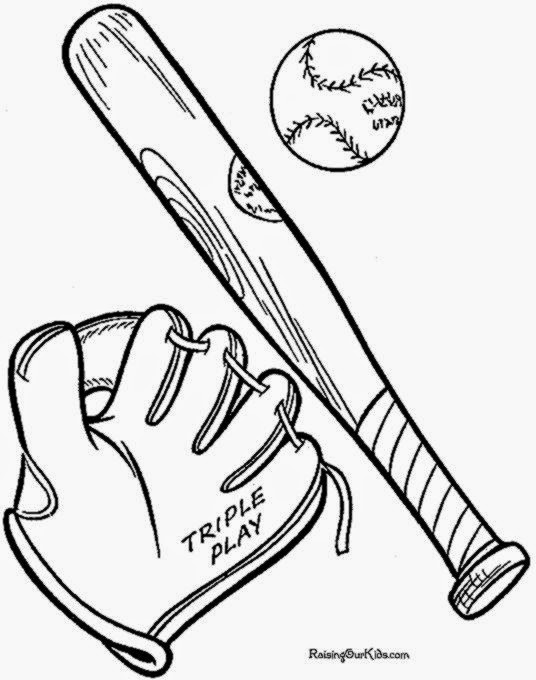 arizona coloring page - baseball pictures to color free coloring pictures