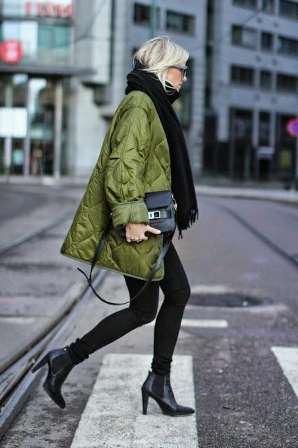 fall, fall trends, autumn, jesienne tendencje, jesienne inspiracje, kurtka puchowa, puffer jacket, jesień 2016, jak nosić