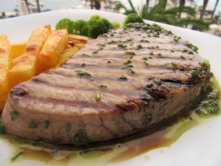 Gourmet tuna steak