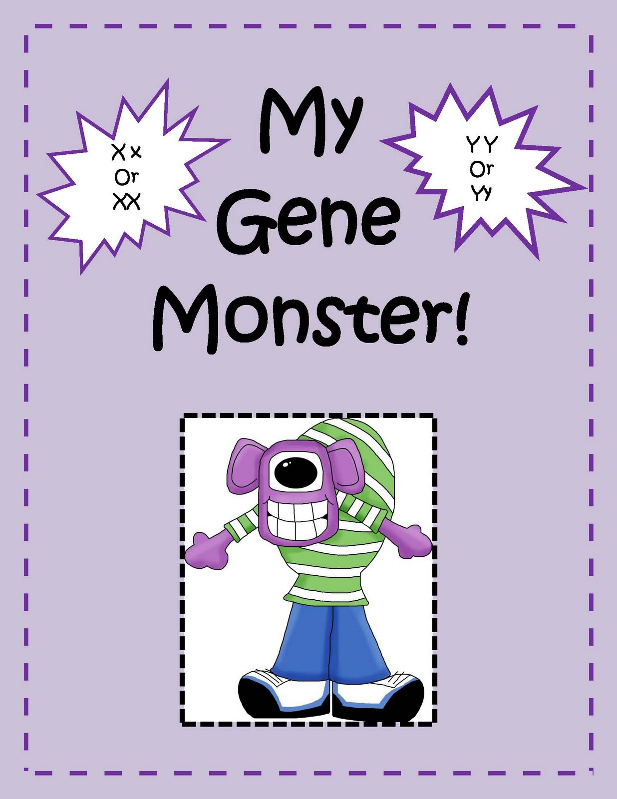 Engaging Lessons And Activities My Gene Monster It S All