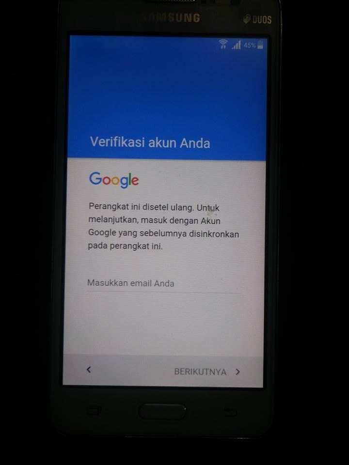 Cara Mengatasi Verifikasi Akun Google Pada Samsung J2 Idea Gallery