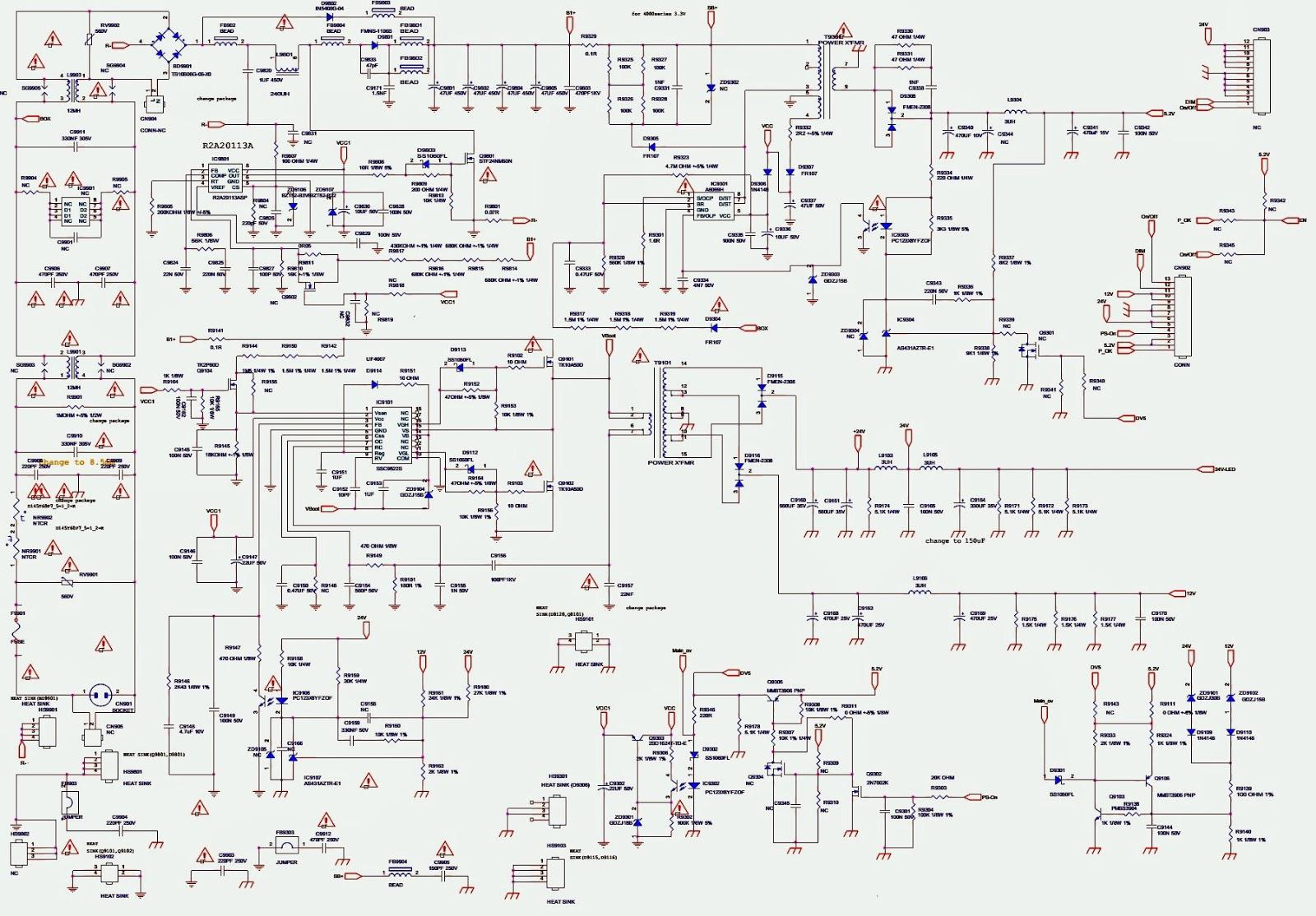 sanyo fvm4612 - dp46132 - dp46132m - dis-assembly - power ... pc power supply wiring diagram sanyo power supply wiring diagram #13