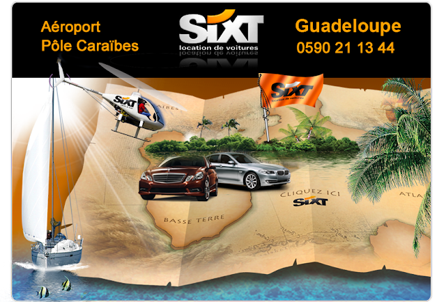 Sixt Guadeloupe locations de voitures