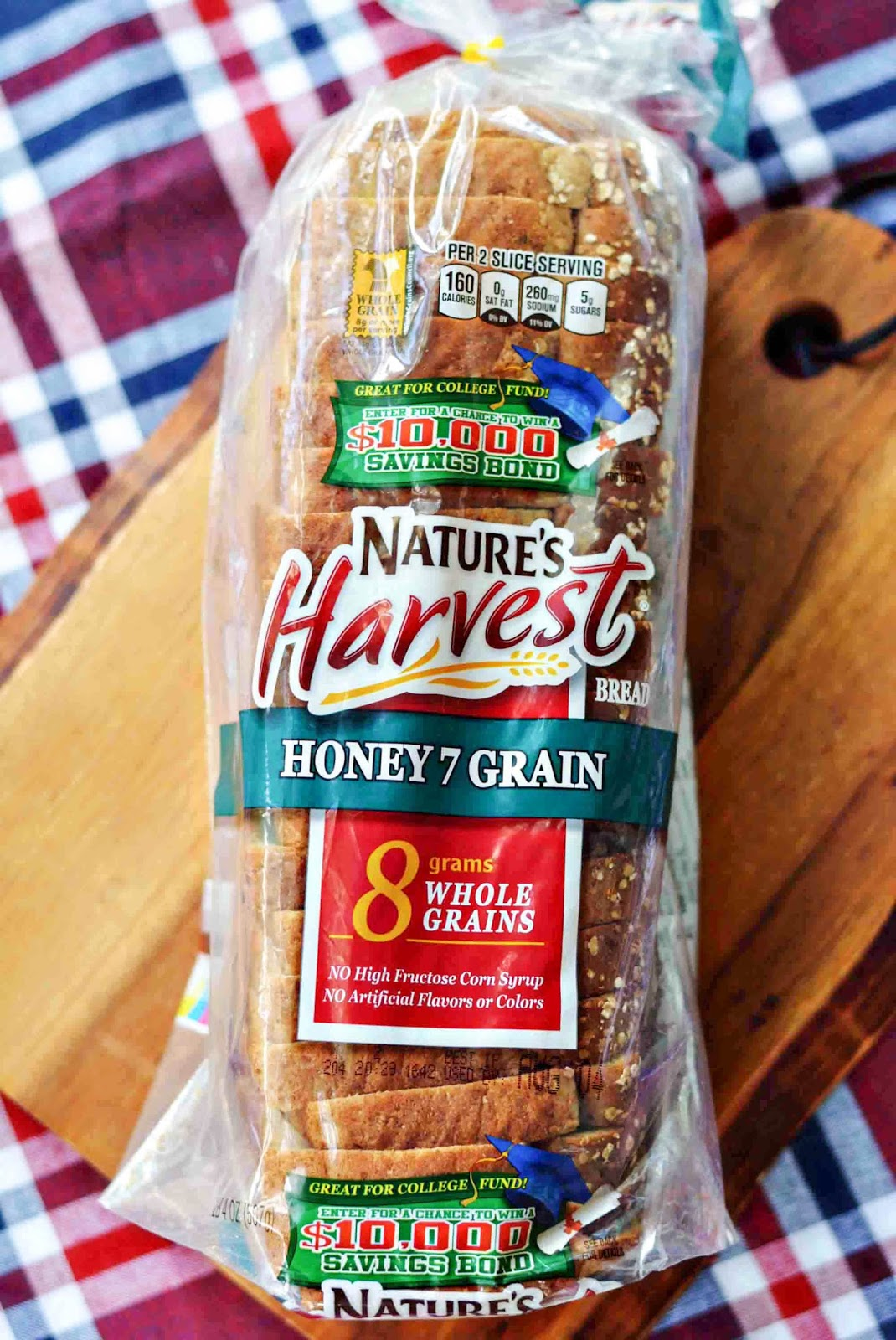 Nature's Harvest Bread