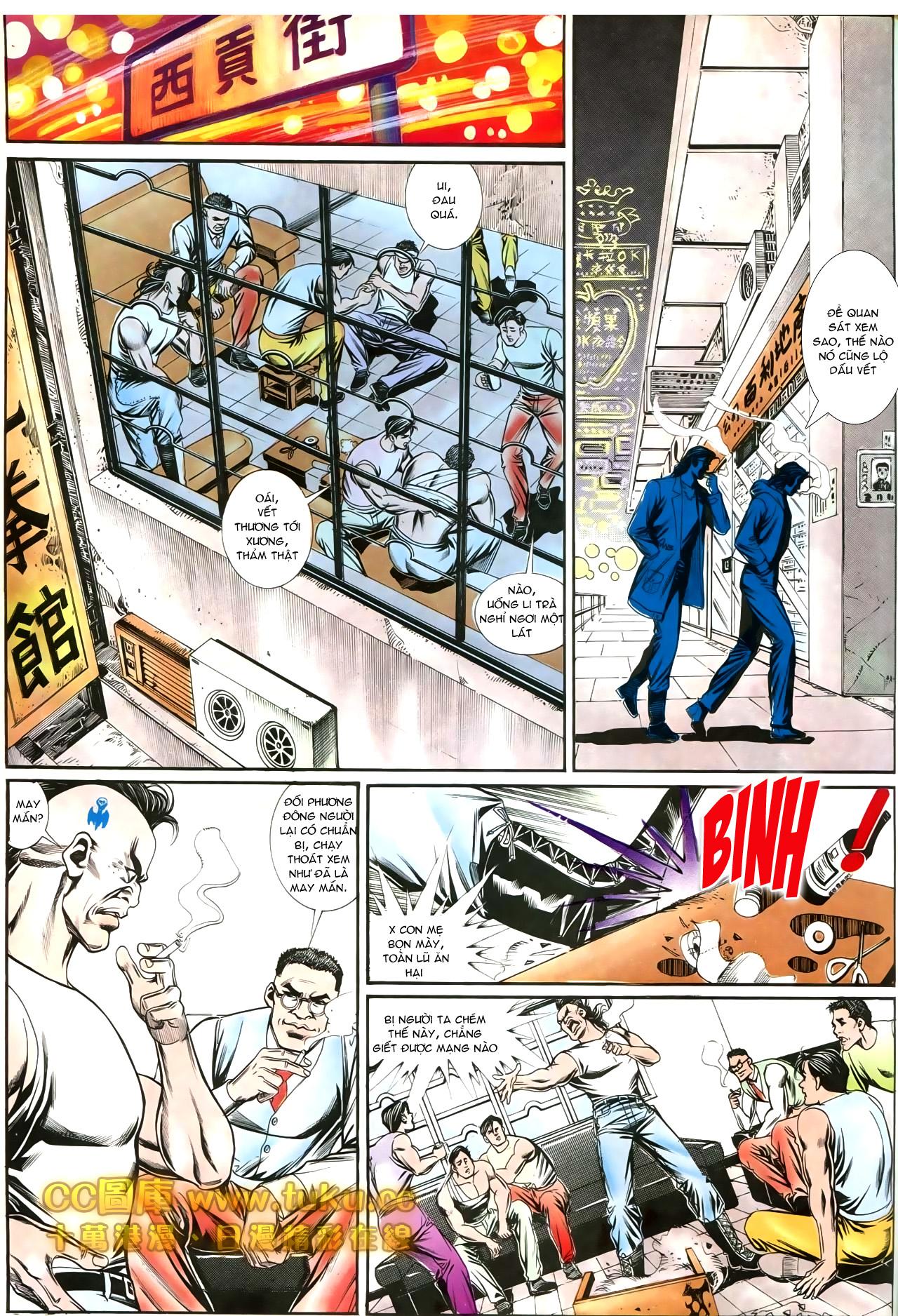 Người Trong Giang Hồ chapter 197: quạ đen báo thù trang 21