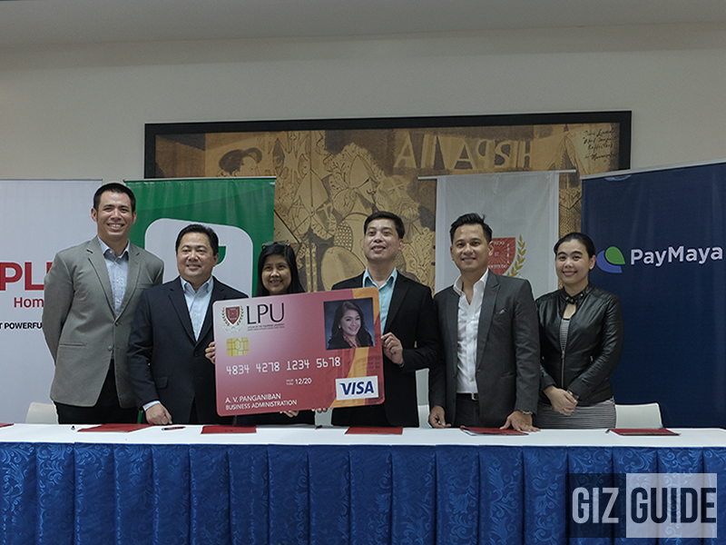 PayMaya and LPU Batangas collaborate on a Super Secure School ID!
