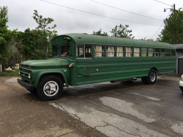 1966 Chevy C60 School Bus | Auto Restorationice