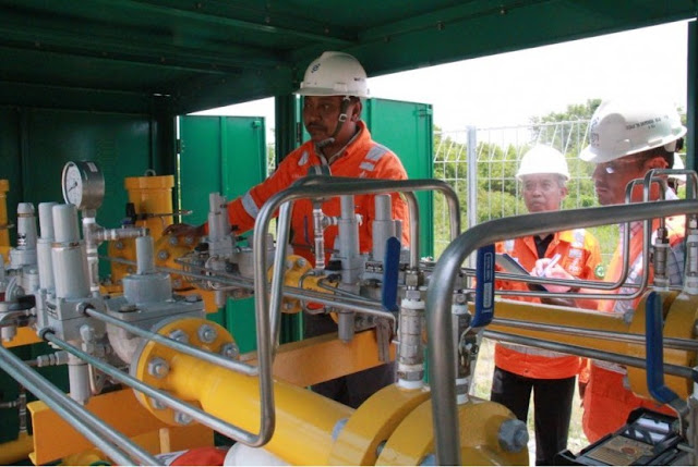 gresik24jam - PGN Alirkan Gas Bumi ke Kawasan Industri di Gresik