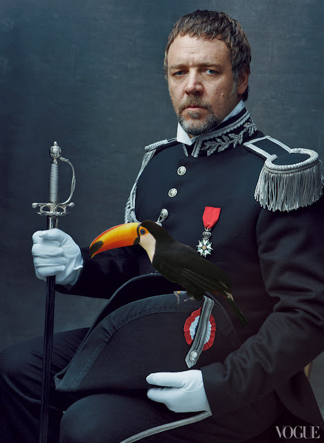 Funny Les Miserables - Javert - Vogue - Russell Crowe