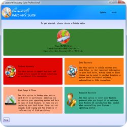 تحميل Lazesoft Recovery Suite Pro 4.2.3 مجانا لاستعادة البيانات وكلمة المرور مع كود التفعيل