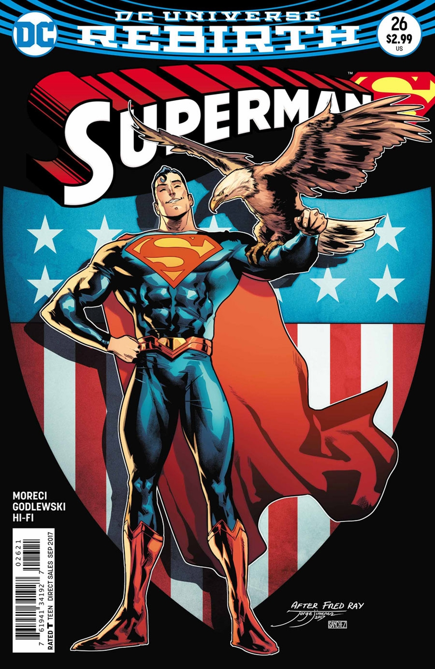 Supergirl Comic Box Commentary: Review: Superman #26