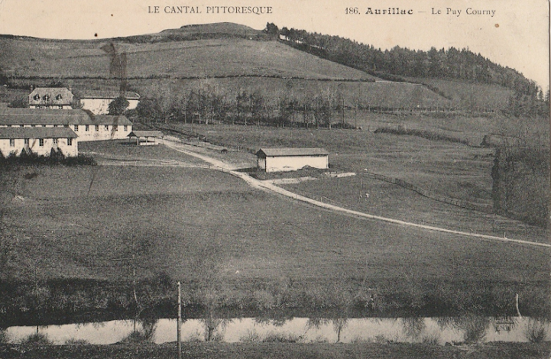 Le Puy Courny, Cantal.