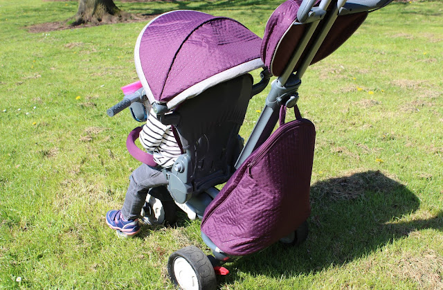 A review of the smarTrike 5-in-1 Trike Infinity