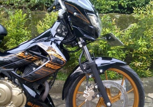 Suzuki Satria FU 150 Blackfire Showroom Motor Bekas
