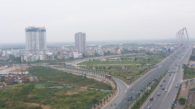Hoàn thành đường 40m nối Võ Chí Công cầu Nhật Tân - Cầu Thăng Long Phạm Văn Đồng