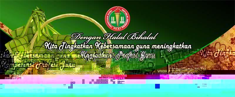 Sunary Sablon Halal Bihalal Pgri Wajak