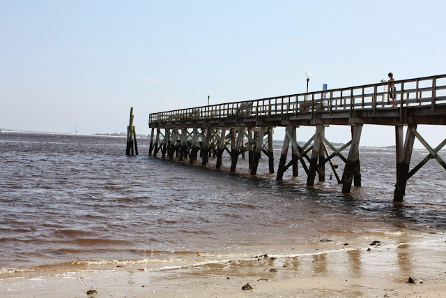 Pier at South Port, North Carolina
