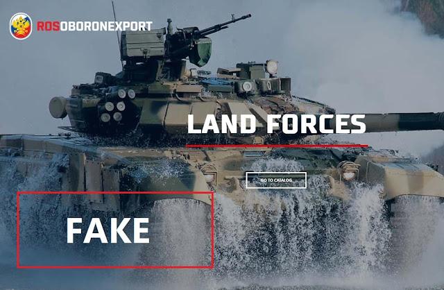 Cơ quan xuất khẩu Quốc phòng Nga giả mạo hình ảnh mẫu xe Tank T-90S mới gây tranh cãi