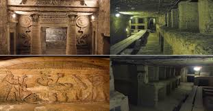The Catacombs in Alexandria( The Royal Cemetery of Kom El-shouqafa )