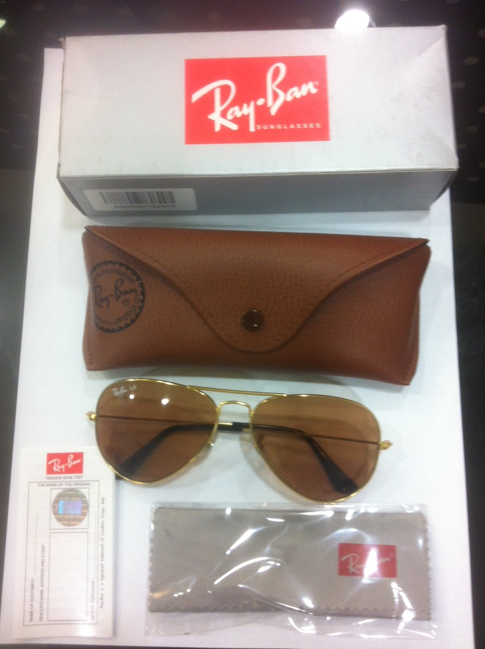 e42d7c3e4ac Lenskart.com RayBan Aviator Fake or Real    You Decide!