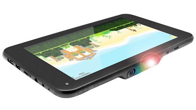 Lumitab - Tablet Android Pertama dengan Fitur Proyeksi Layar Hingga 100 Inci