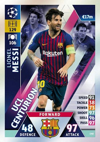 Sticker 185 Topps Champions League 18//19 Paul Pogba