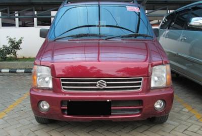 Eksterior Depan Suzuki Karimun Kotak / Classic