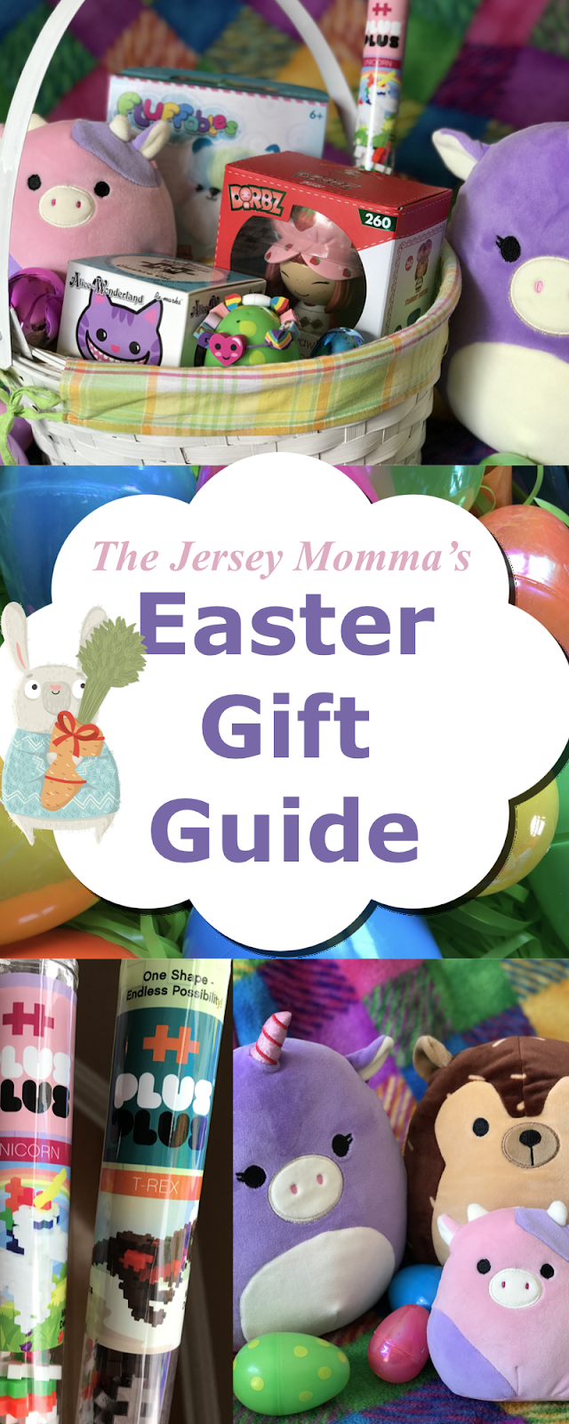The jersey momma easter gift guide non candy easter basket gift lets face it its not always easy to find the right easter gifts especially as the years go by the easter bunny is tired i hear ya negle Images