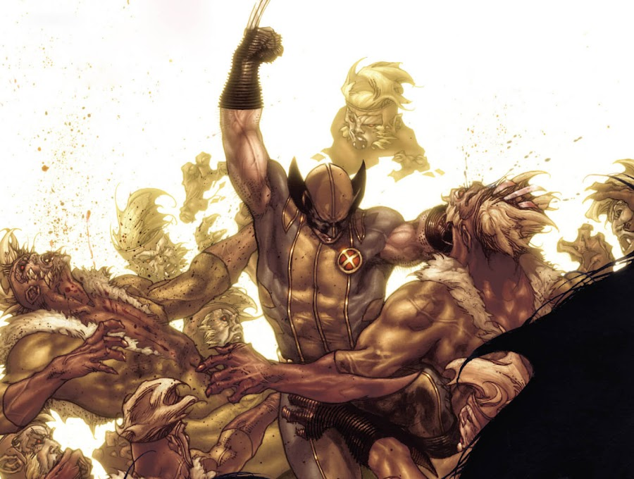 wolverine vs sabretooth marvel comics