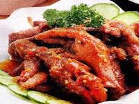 Resep Masakan Ceker Ayam Asam Manis Khas Jateng yang Paling Maknyus