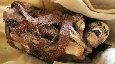 kadın mumya