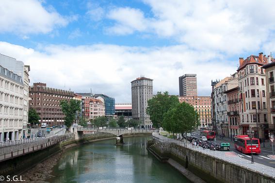 Puente de la Merced. Bilbao, la ria y sus puentes