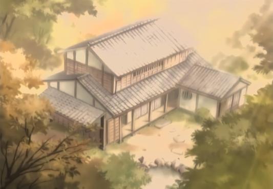 Narrator's parents' house