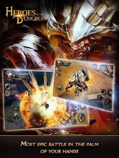 Game Heroes of The Dungeon Apk v3.0.0 Mod Unlimited Money