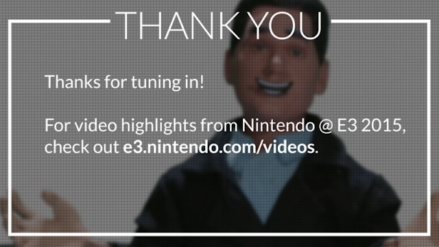 Claymation Reggie Fils-Aime clay thank you Nintendo Treehouse Live