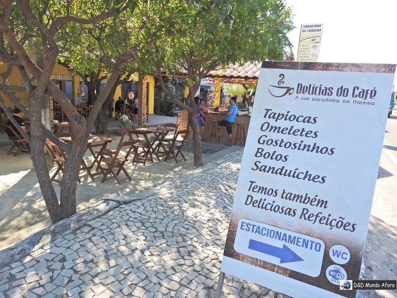 Parada para o café na Delícias do Café, antes de chegar a Jericoacoara, Ceará