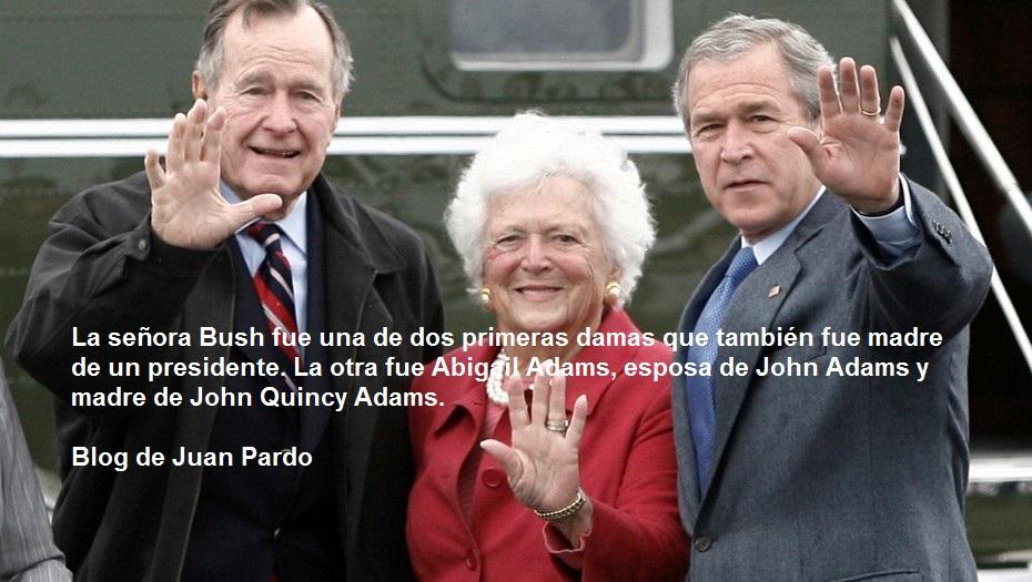 Muere Barbara Bush