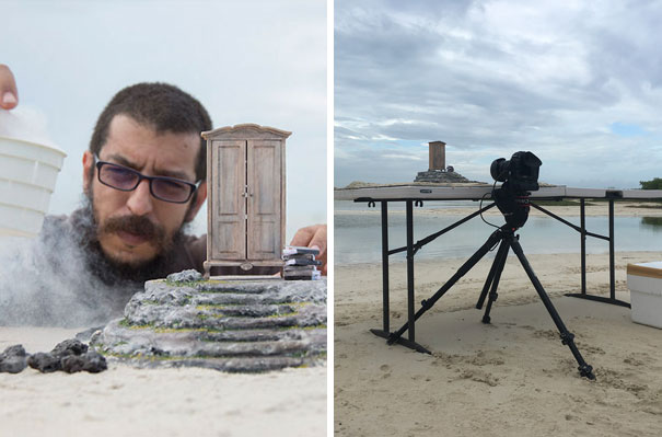 15+ Pics That Show Photography Is The Biggest Lie Ever - Surreal Miniature Photography