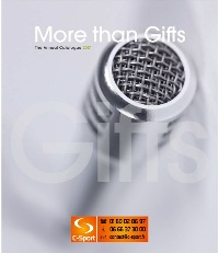 Catalogue More than Gifts 2017 : Objets Publicitaires.