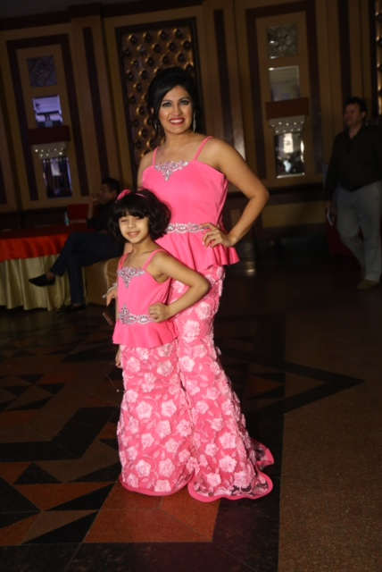 Ruchika Arora with her daughter