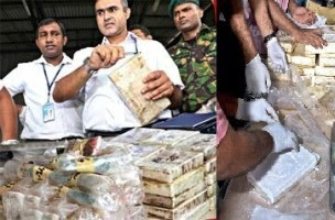 Sri Lanka seizes biggest ever cocaine haul