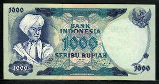 1000 Pangeran Diponegoro Tahun 1975