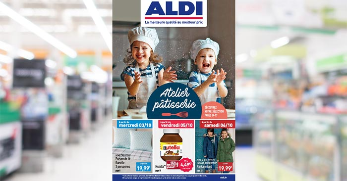 Catalogue ALDI Du 3 Au 9 Octobre 2018