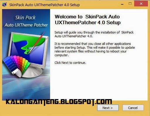Skin Pack Auto UXThemePatcher Install