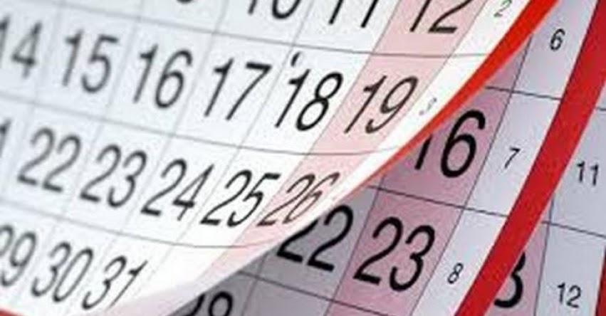 FERIADOS 2017: Conoce los días festivos que restan este año (Noviembre - Diciembre)