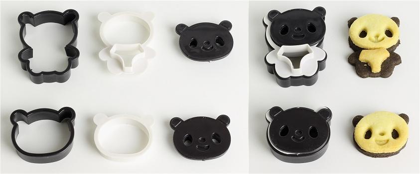 Panda Cookies Anleitung 2